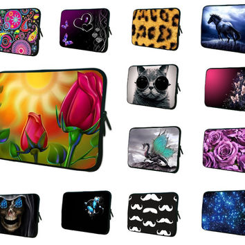 "Laptop Sleeve Tablet Case Notebook Protective Cover For 7 10 12 13 14"" 15 15.6 17 inch Briefcase For 12"" Microsoft Surface Pro 3"