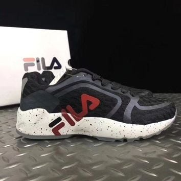 DCCKLM3 FILA running shoes mesh breathable sneakers