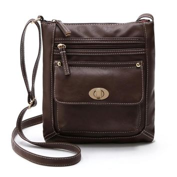 Xiniu Ladies handbags leather Satchel CrossBody shoulder bags for men Messenger bag bao bao#GHEL