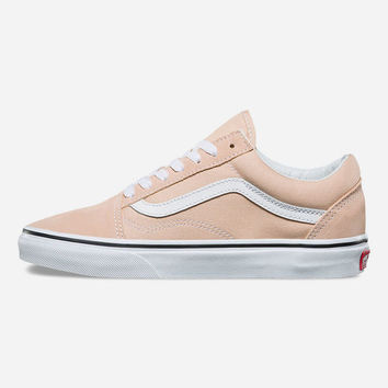 VANS Old Skool Frappe & True White Womens Shoes