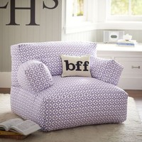 Petal Dot Purple Eco Lounger