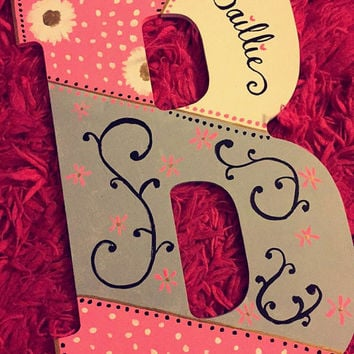 Painted Wooden Letter(s)