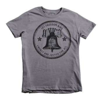 Let Freedom Ring Liberty Bell Kids T-Shirt