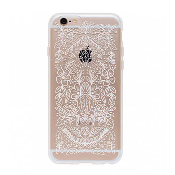 Floral Lace iPhone Case