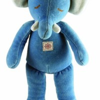 "Eco Friendly Miyim Storybook Collection Plush 11"" Blue Elephant"