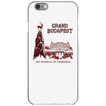 grand budapest hotel iPhone 6/6s Case