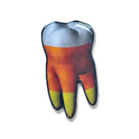 Candy Corn Tooth Pin