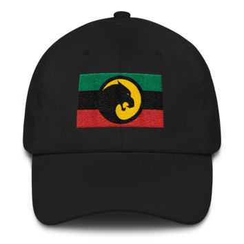 Black Panther RBGY Dad hat