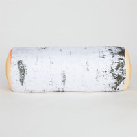 Kikkerland Birch Log Pillow White Combo One Size For Men 22779516701