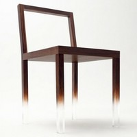 Simple Modern Furniture, Fade-Out Chair by Japanese Designer Nendo | Architecture, Furniture, Home Decorating, Interior Design, & Modern Apartment | housevira.com