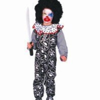Scary Clown - Child Large Costume