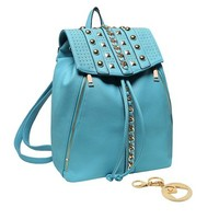 MG Collection Tori Studded Backpack