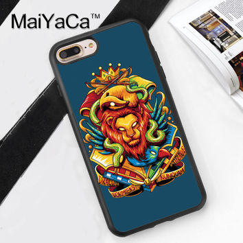 Harry Potter Wizard Hogwarts Houses Mobile Phone Case Cover For iPhone 7 7 Plus 6 6S Plus 5 5S 5C SE 4S Soft TPU Skin Back Cover