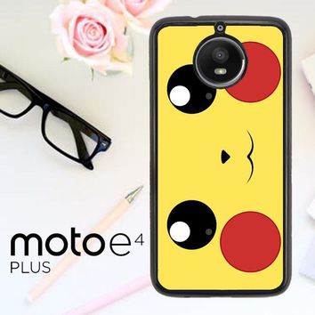 Pokemon Pikachu Poket Monster Case F0580 Motorola Moto E4 Plus Case