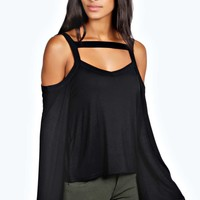Courtney Cut Out Detail Top