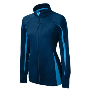 Mizuno Nine Collection: Focus Girl's Full Zip Jacket - Navy Columbia