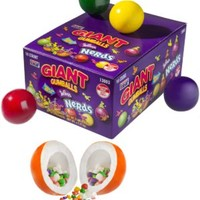 Giant Nerds-Filled Gumballs: Candy filled with even more candy!