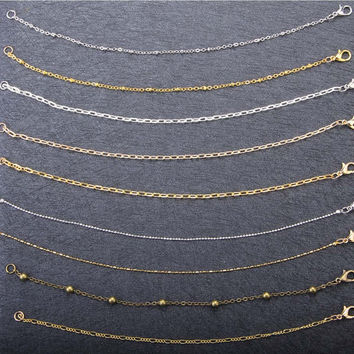 Chain Customized/Necklace Chain/Bracelet Chain/Brass Chain/Golden Chain/Silver Chain/K Chain/Plating Chain