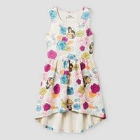 Girls' Disney® Belle High-Low Dress - Multicolor : Target