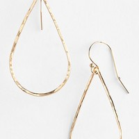 Women's ki-ele 'Tiare' Hammered Teardrop Earrings