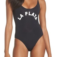 PilyQ Farrah One-Piece Swimsuit | Nordstrom