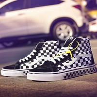 Vans SK8-Hi Old Skool Woman Men Canvas Flats Sport Shoes