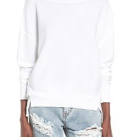 Leith Slouchy Cotton Sweater | Nordstrom
