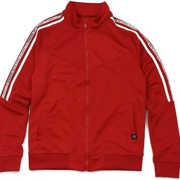 Jeremy Track Jacket (Red)