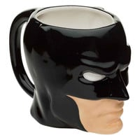 DC Comics Batman Dark Knight Sculpted 17 oz, Ceramic Coffee Cup