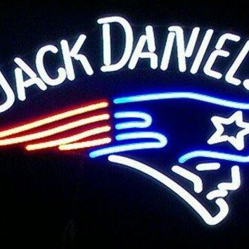 "Desung Brand New 20""x16"" Sports Team NEP JackD Neon Sign (Various sizes) Beer Bar Pub Man Cave Business Glass Neon Lamp Light DB79"
