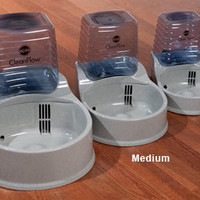 Dog Waterer| CleanFlow Filtered Water Bowl