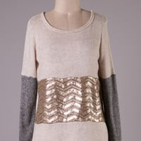 Ashley Sequined Sweater