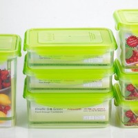 Kinetic Go Green Premium Nano Silver 14 Piece Food Storage Container Set (Includes Lids and Contain
