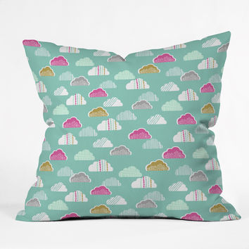 Wendy Kendall Petite Clouds Throw Pillow