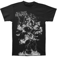 All That Remains Men's  Gods Wrath T-shirt Black Rockabilia