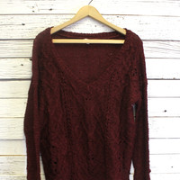 Rachel Distressed Knit