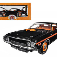 1970 Dodge Challenger R-T 426 Hemi Black 50th Anniversary 1-24 Diecast Model Car by M2 Machines
