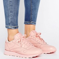Reebok Classic Nylon X Spirit Trainers In Pink at asos.com
