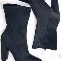 Downright Darling Black Boot