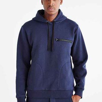 Champion X Timo Weiland Pullover Hooded Sweatshirt- Navy