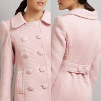 BLACK SWAN Natalie Portman's Pink Coat Nina by stylemadehere