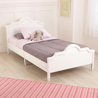 KidKraft Raleigh Twin Bed - White - 86946