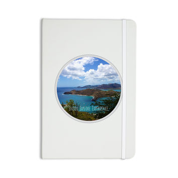 "Deepti Munshaw ""Enjoy Explore Experience"" Island Everything Notebook"