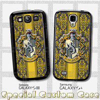 Hoghwart School - Hufflepuff Design for iPhone Case,Samsung Galaxy S3/S4 Case,iPhone 4 Case,iPhone 4S Case and iPhone 5 Case