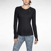 Nike Dri-FIT Wool V-Neck Women's Running