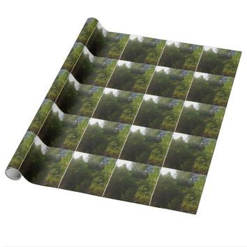 Green Friends Wrapping Paper