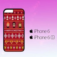 Harry Potter Merry Christmas Pattern A0482 iPhone 6|6S Case