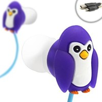 BeakBUDS Penguin Earbud Headphones with DataSTREAM Micro-USB Cable for Samsung Galaxy S3 & S4 , HTC DROID DNA , Nokia Lumia 920 and Many More Smartphones:Amazon:Electronics