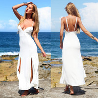 Spaghetti Strap Long Dress