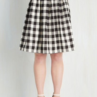 Vintage Inspired Mid-length Full First Edition Fanatic Skirt
